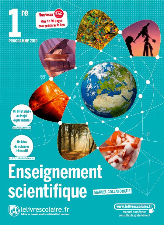 Numerique 2019 Enseignement Scientifique 1e Manuel