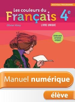 Les Couleurs Du Francais 4e 2011 9782011203915