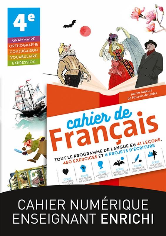 Cahiers De Francais Le Robert 4e Et 3e 2018 9782321013235