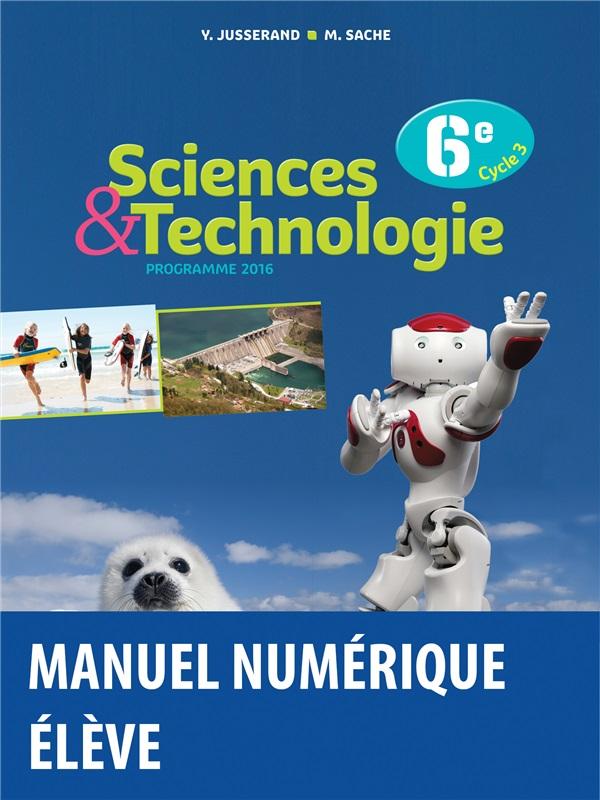 Sciences Et Technologie 6e 2016 Manuel Numerique